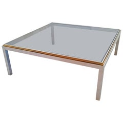 Large Romeo Rega Coffee Table, circa 1970