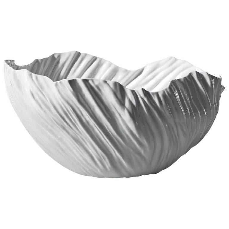 Adelaide III Large White Vase by Xie Dong for Driade