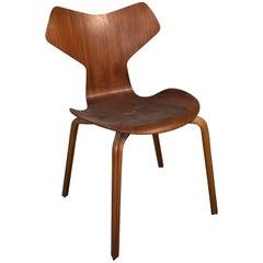 Arne Jacobsen Grand Prix Model 4130 Teak Danish Mid-Century Modern