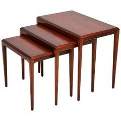 1960s Danish Nest of Tables by Johannes Andersen