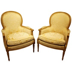 Pair of French Ladies Arm Chairs by Sherrill