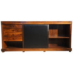 Modern Brazilian Sideboard by Sergio Rodrigues in Rosewood