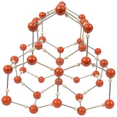 Molecular Structure for Didactic Purposes Made in the 1950s