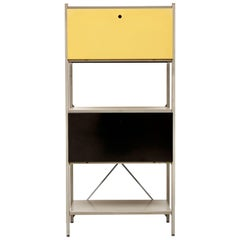 Industrial Metal Cabinet or Divider Model No. 663 by Wim Rietveld for Gispen