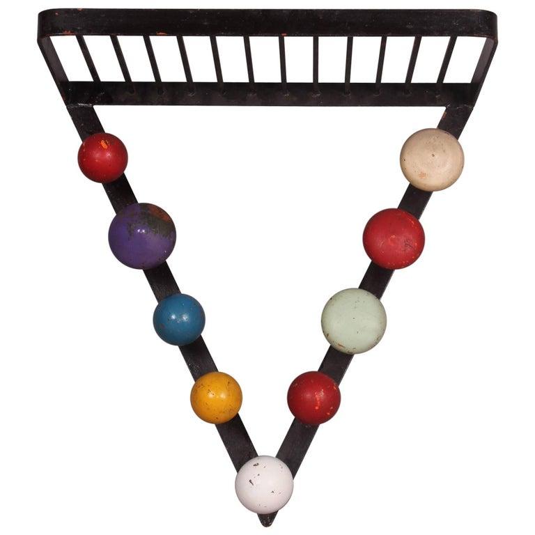 Multicolor Coat Hanger