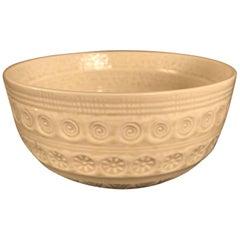 "Japanese Fine ""Swirls & Compasses"" Tea Bowl, Hand-Built and Hand Glazed"