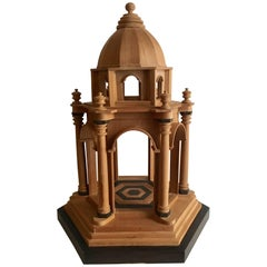 21st Century Wooden Architectural Model