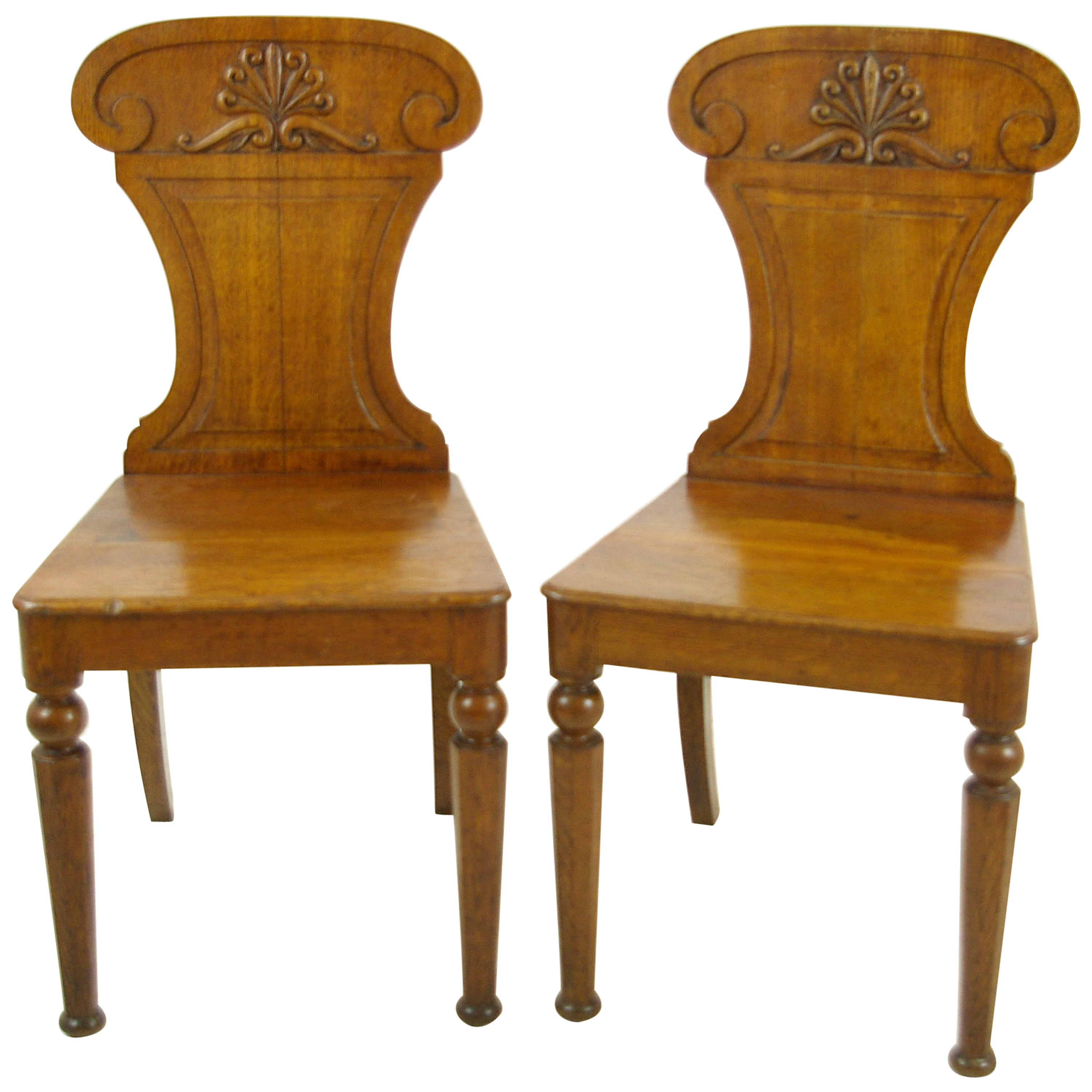 Carved Oak Side Chairs Two Gothic Chairs Scotland 1850 B976 REDUCED!!! at 1stdibs  sc 1 st  1stDibs & Carved Oak Side Chairs Two Gothic Chairs Scotland 1850 B976 ...