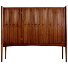 Rare Danish Cabinet by Treman, 1950s