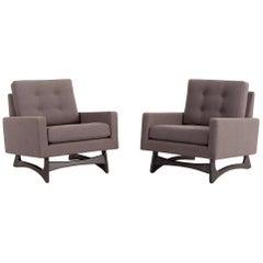 Set of Pearsall 2406-C Cube Chairs
