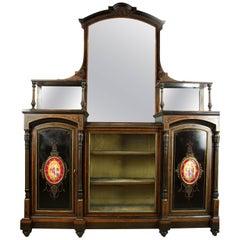 Antique Ebonized Sideboard, Victorian Sideboard, Aesthetic Movement, 1880
