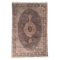 Wonderful and Very Fine Persian Tabriz Rug