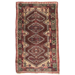 Nice Vintage Turkish Antique Rug