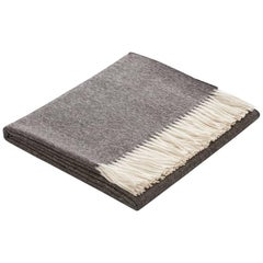 Handmade 100% Peruvian Baby Alpaca Sill Throw Charcoal by Fells/Andes