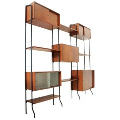 Aedes Italian Midcentury Wall Unit by Amma, 1950s