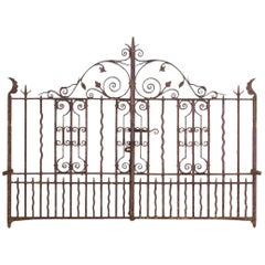 Victorian Wrought Iron Gates