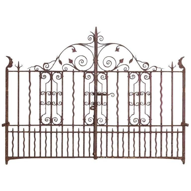 Victorian Wrought Iron Gates