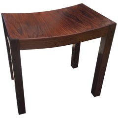 Danish Rosewood Dressing Stool