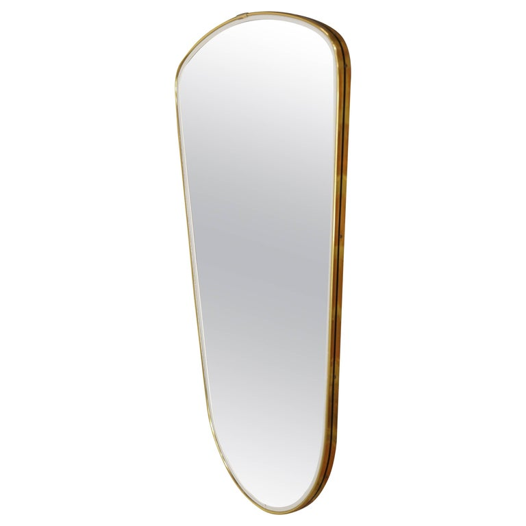 Black and Gold Vintage Mirror