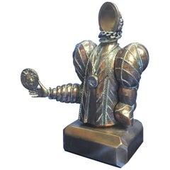 """Miguel Berrocal """"Alice II"""" Bronze Sculpture, 1981-1982"""