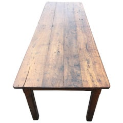 Farm House Table, Oak, circa 1800
