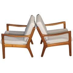 Ole Wancher Senator Teak Loungechair for Cado 1951, Mid-Century Modern