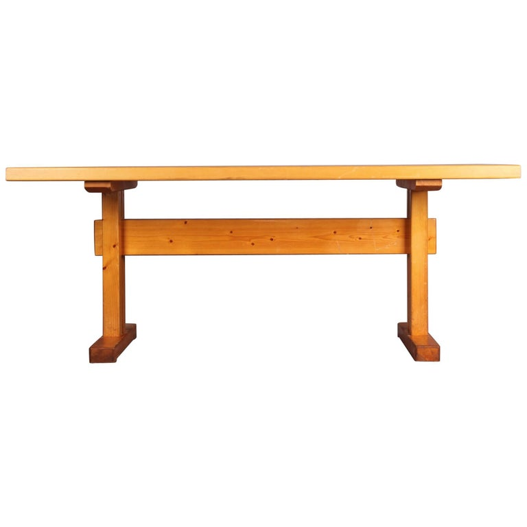 Charlotte Perriand Dinning Table for Les Arcs