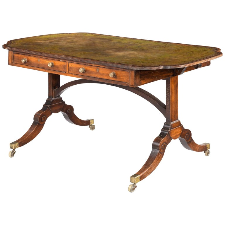 Regency Period Library Table
