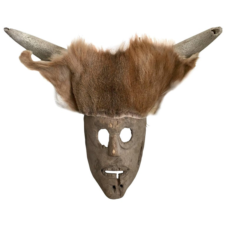 Ceremonial Deer Mask from Mexico