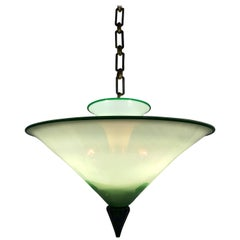 Art Deco Chandelier in Murano Glass Attributed to Martinuzzi and Zecchin