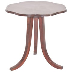 Art Deco Walnut Side Table by Josef Frank for Thonet Vienna, circa 1925