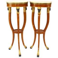 Pair of Italian Neoclassic Style '20th Century' Pedestals