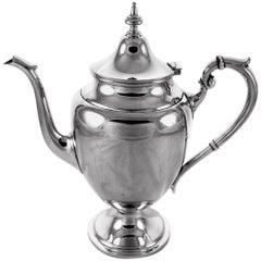 Sterling Coffee or Tea Pot