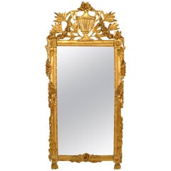 Italian Neoclassic '18th Century' Gilt Wall Mirror