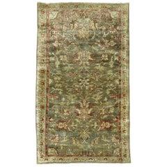 Antique Persian Malayer Rug Mat