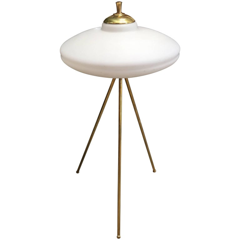 Italian Tripod Floor Lamp, 1960s For Sale
