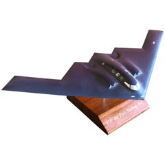 Air Force B-2 Bomber Desk Model