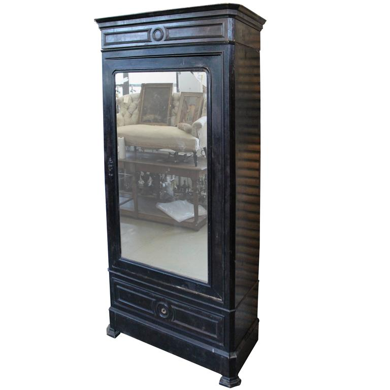french 19th century napoleon iii armoire at 1stdibs. Black Bedroom Furniture Sets. Home Design Ideas