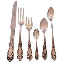 Amaryllis by Reed & Barton Sterling Silver Flatware Set Service 39-Piece Dinner