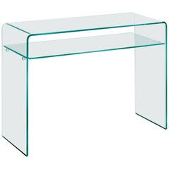Rialto Glass Console Table by CRS Fiam for Fiam
