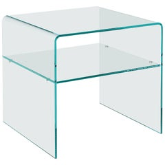 Rialto Glass Side Table by CRS Fiam for Fiam