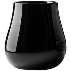 Drop Decorational Element in Lacquered Black Polyethylene by Emmanuel Babled