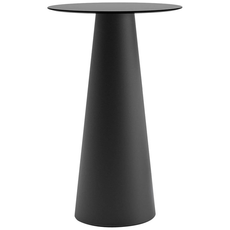Fura Table in Pearl Black Polyethylene by Form Us with Love for Plust
