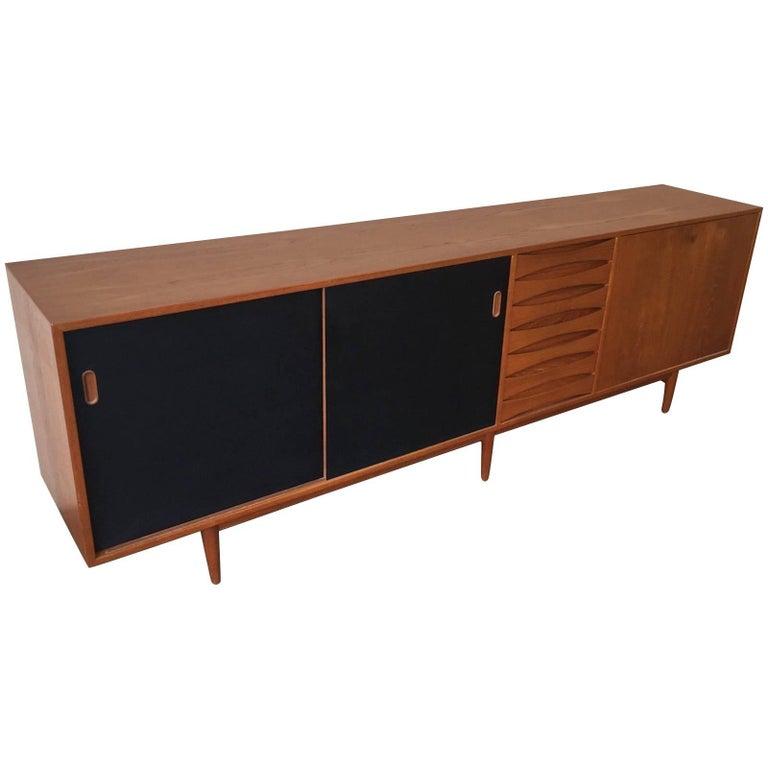 Wonderful Arne Vodder Triennale Sideboard For Sale