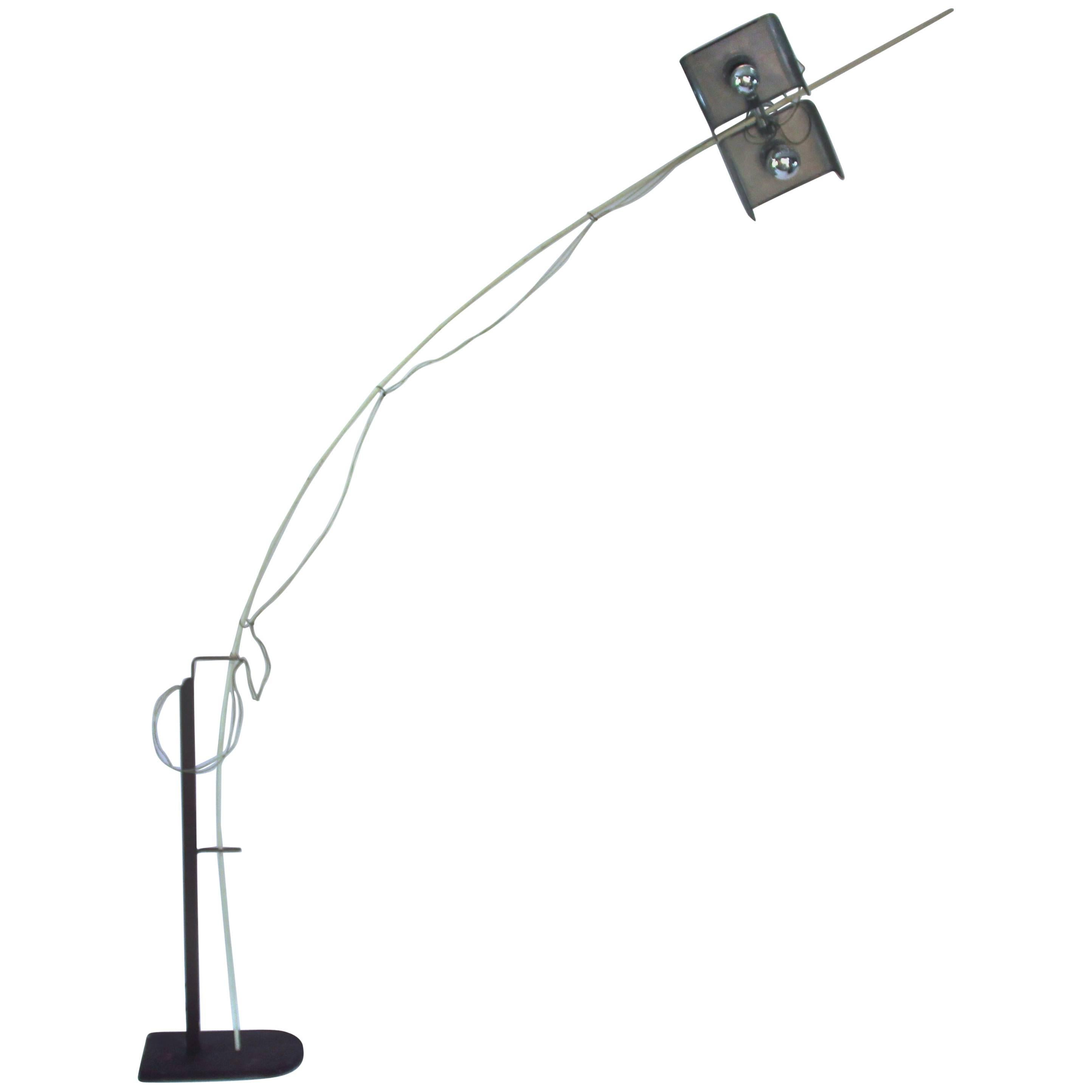 Isamu Noguchi Floor Lamp Akari Model, Circa 1950 Japan For