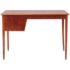 Danish Teak Desk, Severin Hansen, Cabinetmaker, 1950s