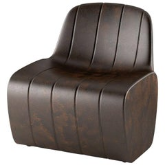 Jetlag Chair in Golden Rust Polyethylene by Cedric Ragot for Plust