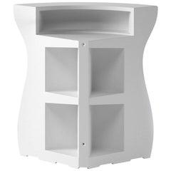 Bartolomeo Corner in White Polyethylene by JVLT/Joe Velluto for Plust