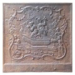 18th Century French Louis XV 'Sacrifice of Iphigenia' Fireback