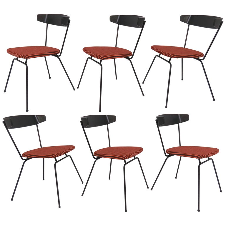 Set of Six Clifford Pascoe Dining Chairs, circa 1950s